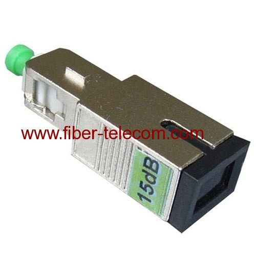 SC male to female built-out attenuator
