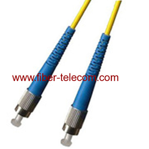 FC-FC Single mode Simplex Fiber Optic Patch Cord