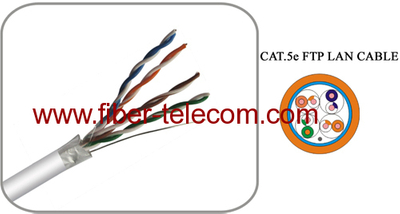 F/UTP 4Pairs Cable Category5E PVC Sheath