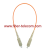 SC to SC MM Simplex Fiber Optic Jumper
