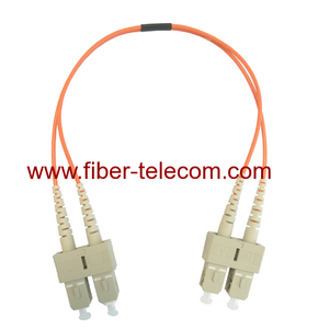 SC to SC MM Duplex FO Patch Cord