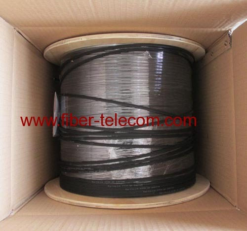 GJXFH-2B6 FTTH Indoor Cable 2 Core with 0.5mm FRP Strength Member