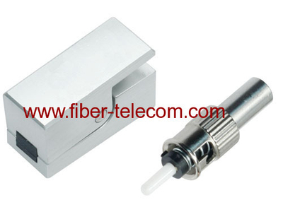 ST Bare Fiber Optic Adaptor