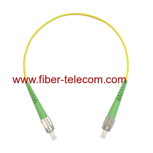FC/APC to FC/APC Singlemode Simplex Fiber Optical Patchcord