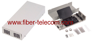 Wall Mounted fiber optic indoor Terminal Box 24fibers