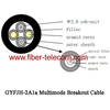 GYFJH-2A1a Multimode Breakout Cable 7.0mm LSZH