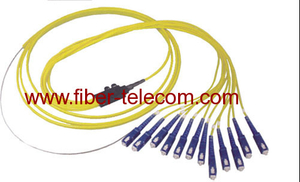 SC Single Mode Fan-out Fiber Optic Pigtail