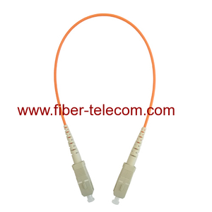 SC to SC MM Simplex Fiber Optic Patchcord