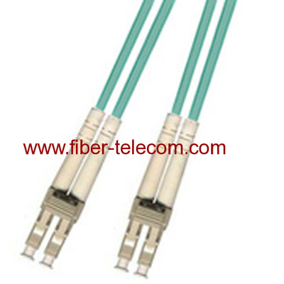 LC-LC Multi Mode OM3 Duplex Fiber Optic Patch Cord