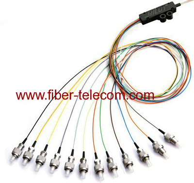 ST Single Mode Ribbon Fan-out Fiber Optic Pigtail