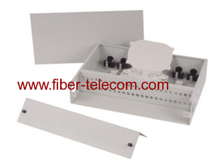 19 inch rack mounted fiber optic terminal box 2U