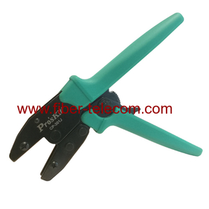 Fiber Ratchet Crimping Tool