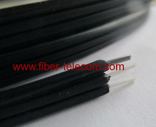 GJYXFCH-1B6 FTTH Drop Cable 1-fiber Fig.8 with 0.5mm FRP Strength member