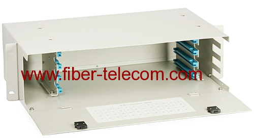 "19"" Rack Mount Fiber Optic Distribution Box"