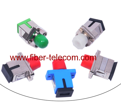 FC-SC single mode simplex hybrid fiber optic adaptor