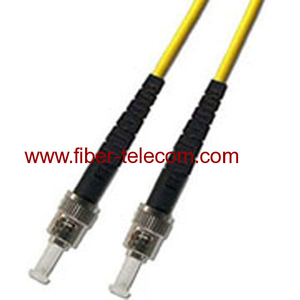 ST-ST Fiber Optic Patch Cord Single mode Simplex