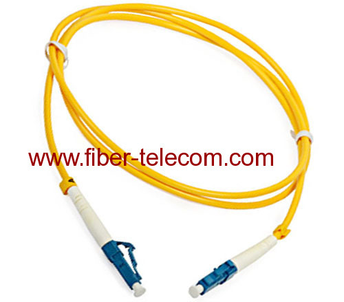 LC to LC SM Simplex Fiber Optical Patch Cord