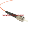 ST to ST MM Simplex Fiber Patch Cord