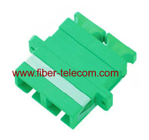SC/APC duplex fiber optic adaptor