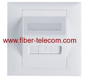 FP-AD2001 Fiber Optic Adaptor's Faceplate