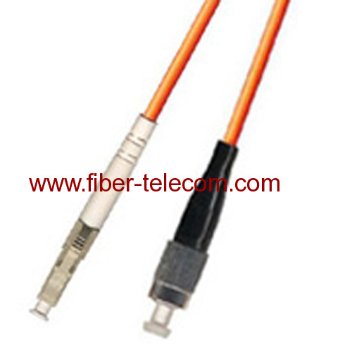 FC-LC Multi Mode Simplex Fiber Optic Patch Cord