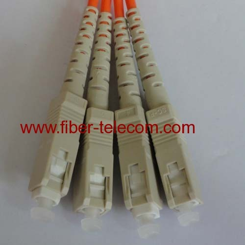 SC-SC Multi mode Duplex Fiber Optic Patch Cord